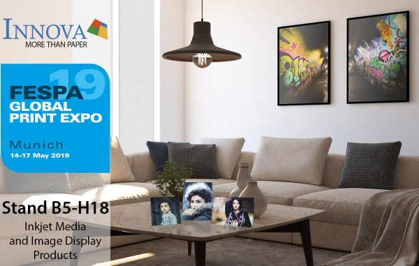 Innova Art at FESPA 2019   Inkjet Media and Display Products