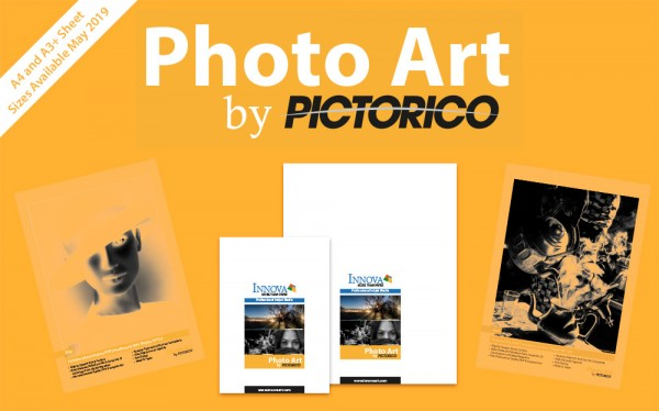 Innova Photo Art by Pictorico | Sheet Sizes Available May 2019